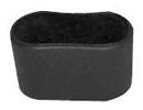 4 x fusskappen 38 x 20mm schwarz wei stuhlkappen schutzkappen rohrkappen ebay. Black Bedroom Furniture Sets. Home Design Ideas