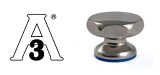 Sterngriffe aus Edelstahl mit Silikondichtung- USDA & 3A zertifiziert