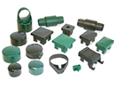 Verschiedene Zaunbau Teile und Ersatzteile